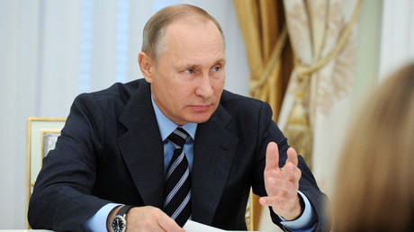 Russian President Vladimir Putin © Michael Klimentyev