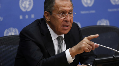 Russian Foreign Minister Sergei Lavrov © Lucas Jackson