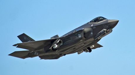 An F-35A Lightning II Joint Strike Fighter © Randy Gon / U.S. Air Force photo