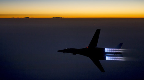 A U.S. Air Force B-1B Lancer supersonic bomber © Reuters
