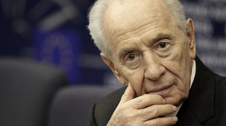 Former Israeli President Shimon Peres. ©Jean-Marc Loos