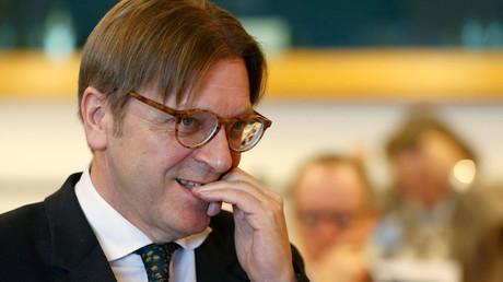 Guy Verhofstadt © Francois Lenoir