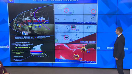 Buk missile producer Almaz-Antey holds a press conference on September 28, 2016