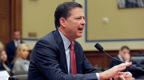 FBI Director James Comey testifies before a House Judiciary Committee hearing on