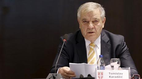 Former president of Serbian FA (FSS) Tomislav Karadzic © Marko Djurica