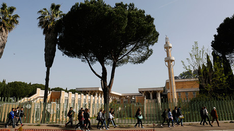 General view of the main mosque in Rome, Italy © Tony Gentile