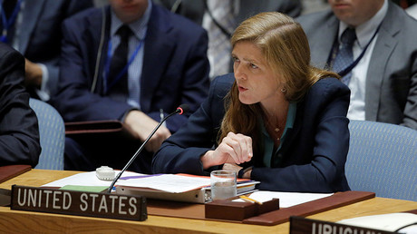 U.S. Ambassador to the United Nations Samantha Power © Andrew Kelly