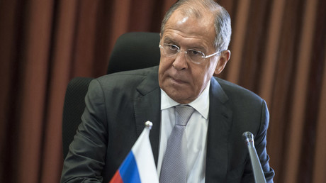 Russian Foreign Minister Sergei Lavrov © Evgeny Biyatov