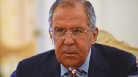 Russian Foreign Minister Sergei Lavrov © Mikhail Voskresenskiy