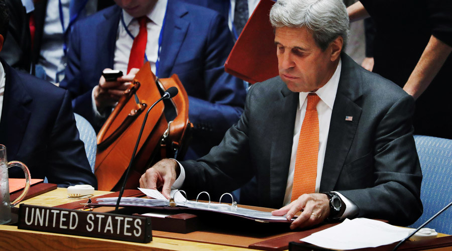 'Leaked Kerry comments prove US involvement in Syrian crisis from onset'