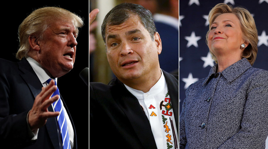 Trump would have good effect on L. America, but I'd vote Hillary – Ecuador president to RT