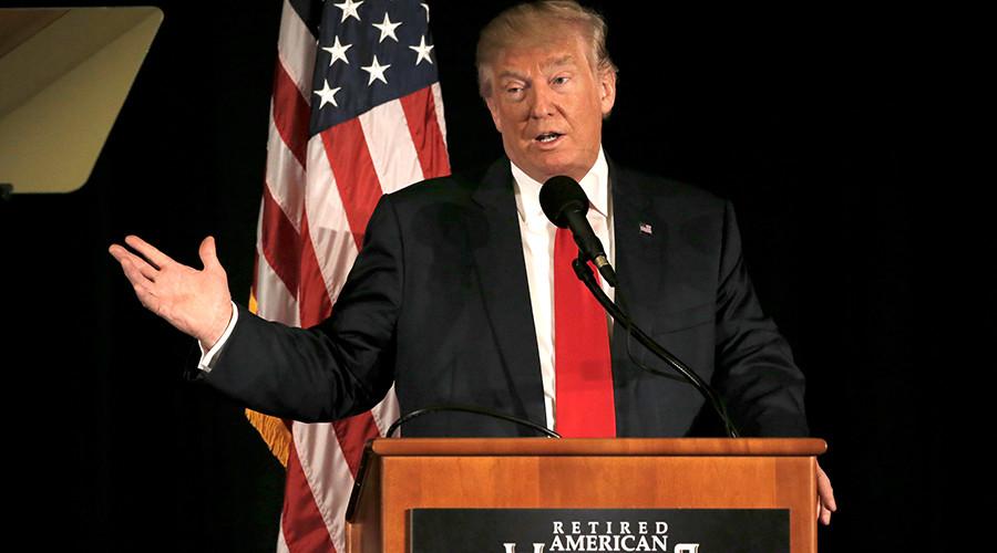 Republican presidential nominee Donald Trump © Mike Segar
