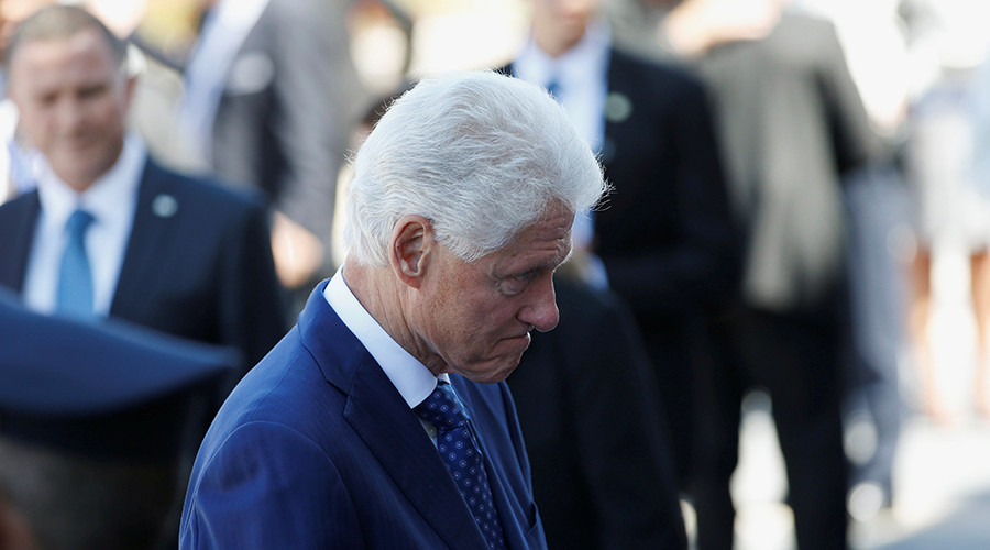 Former U.S. President Bill Clinton © Ronen Zvulun