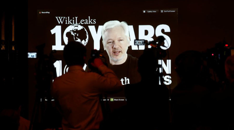 'Assange believes in his work & that keeps him going' – WikiLeaks editor