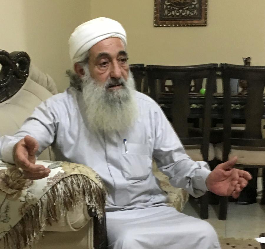 Sunni cleric Dr. Mustafa Abu Rumman. ©Sharmine Narwani