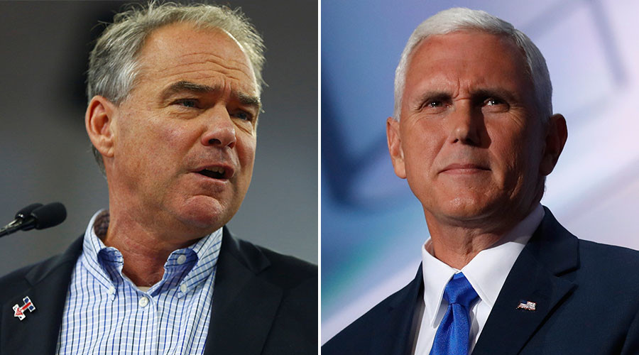 Kaine vs. Pence: Quiet but controversial men square off in veep debate