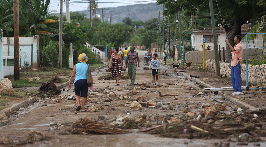 Hurricane Matthew hits Cuba hours after slamming Haiti (PHOTOS, VIDEOS)