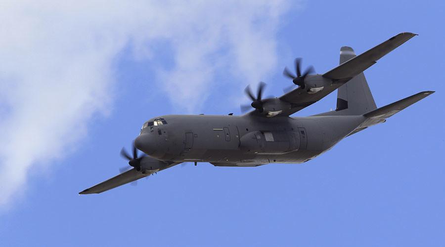 Lockheed Martin C-130J Super Hercules aircraft. ©Gonzalo Fuentes