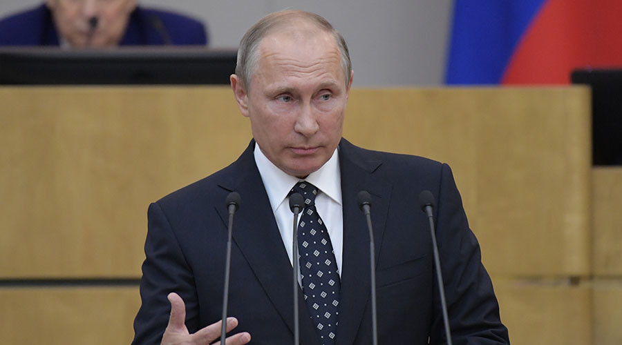 Russia's strength is its unity – Putin to Duma