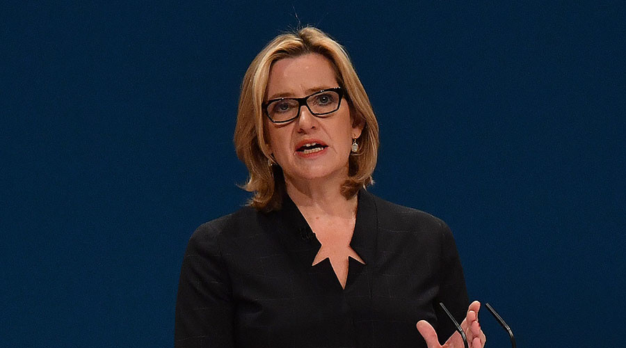 British Home Secretary Amber Rudd. © Ben Stansall