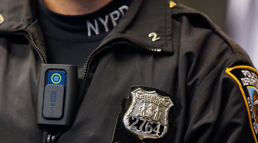 Not a single NYPD officer wears a body camera