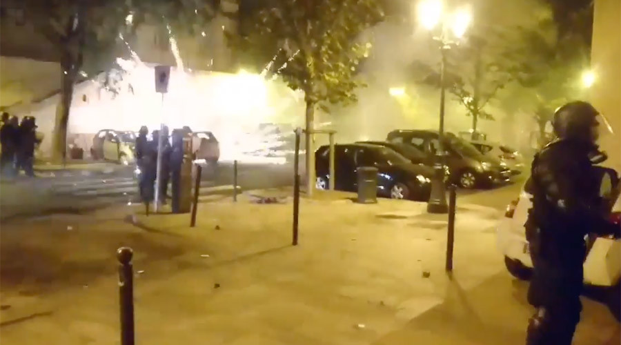 Molotov cocktails & grenades fly at clashes between French police & Corsican nationalists