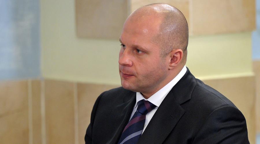 President of Russian MMA Union, Fedor Emelianenko © Aleksey Nikolskyi