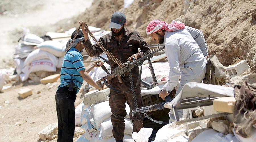 Rebel fighters from the Ahrar al-Sham Islamic Movement © Khalil Ashawi / Reuters