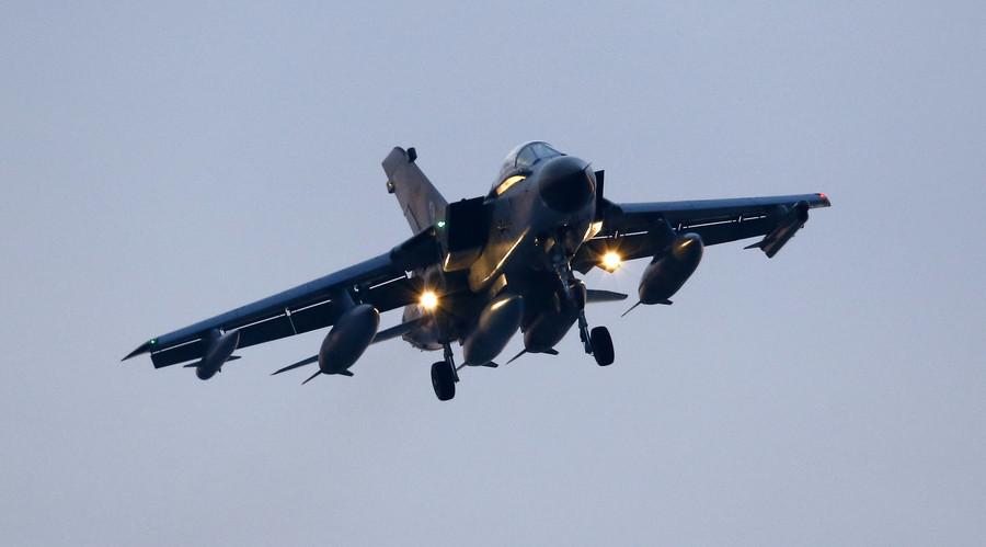 A German air force Tornado jet © Umit Bektas
