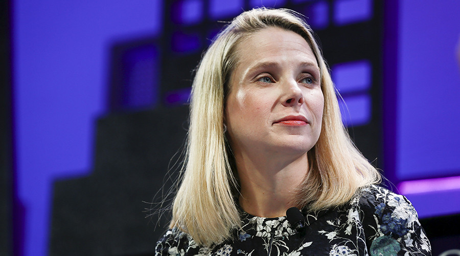 Marissa Mayer, President and CEO of Yahoo © Elijah Nouvelage
