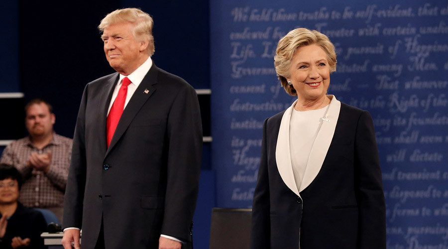 'You'd be in jail' Trump says to Clinton & other debate zingers