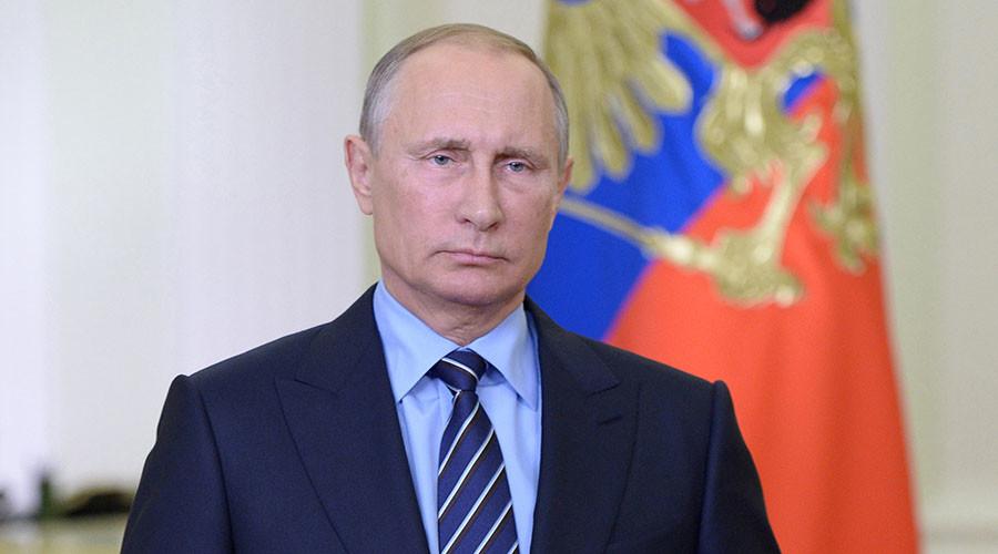 Russian President Vladimir Putin. ©Aleksey Nikolskyi