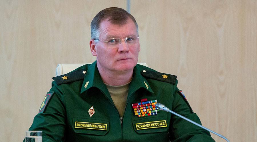 Russian Defense Ministry Spokesman Major General Igor Konashenkov. ©Sergej Bobylev
