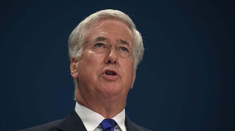 British Defence Secretary Michael Fallon. ©Toby Melville