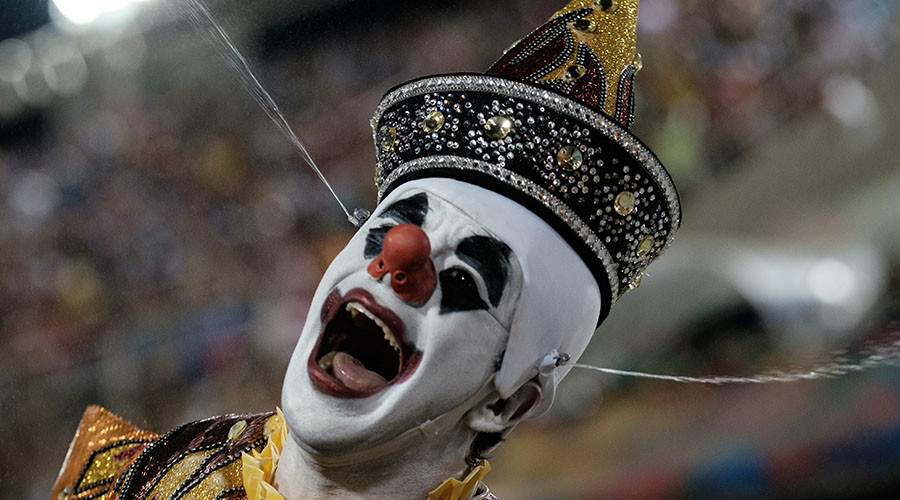'Killer clown' scares woman into premature birth