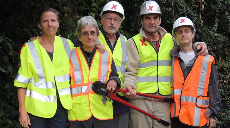 Activists targeted oil pipelines in 5 states, 9 arrested (VIDEOS)