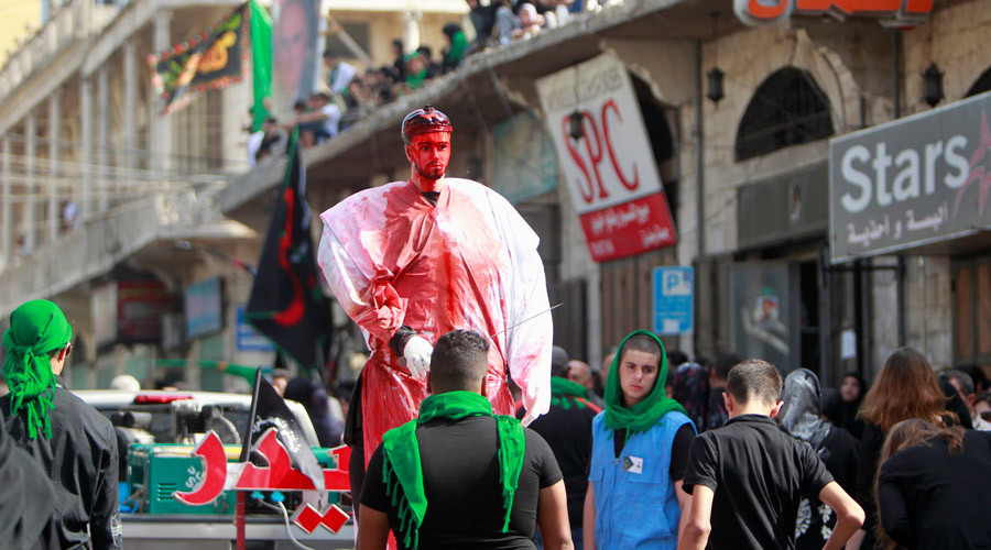 Shia Muslims mark religious festival of Ashura with prayers and self-flagellation (PHOTOS, VIDEO)