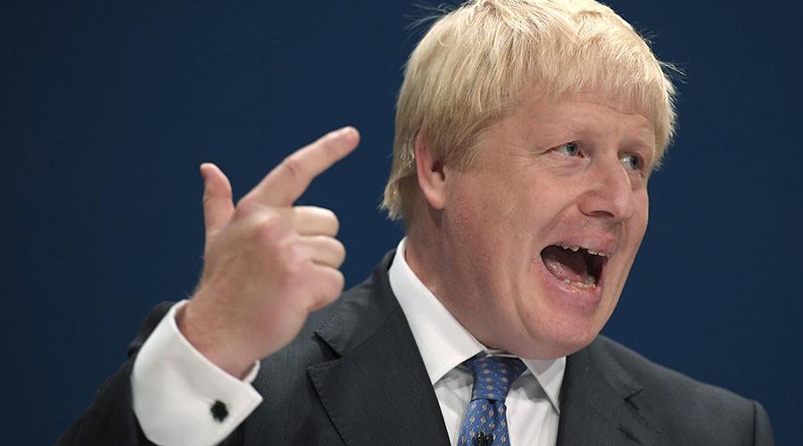 'PR clown Johnson stirs up anti-Russia hysteria'