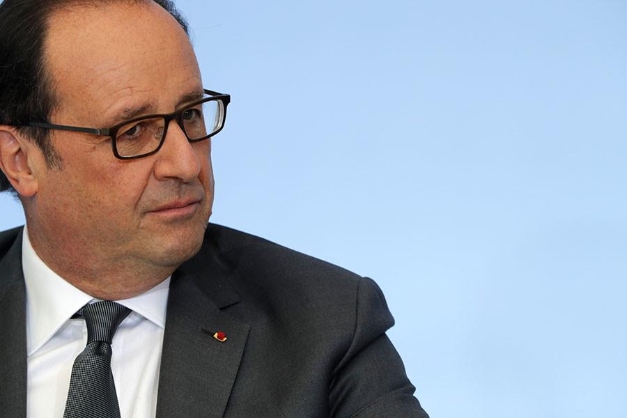 French President Francois Hollande. ©Philippe Wojazer
