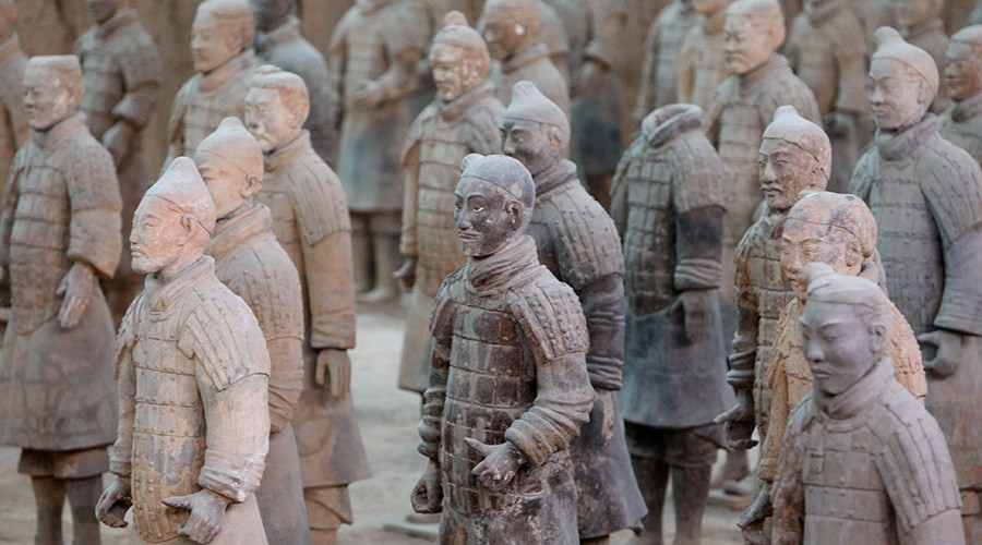 Terracotta Army probably designed by Greeks who arrived in China before Marco Polo – researchers