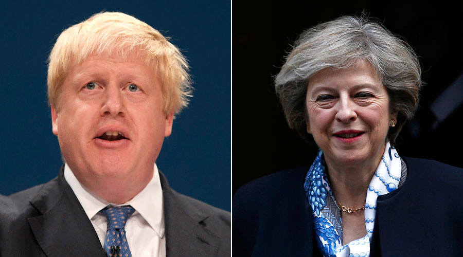 No UK plans for military force in Syria – PM May contradicts Johnson