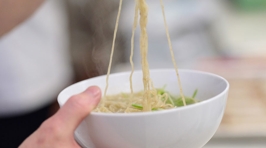 Finger food: Child makes grim discovery in noodles