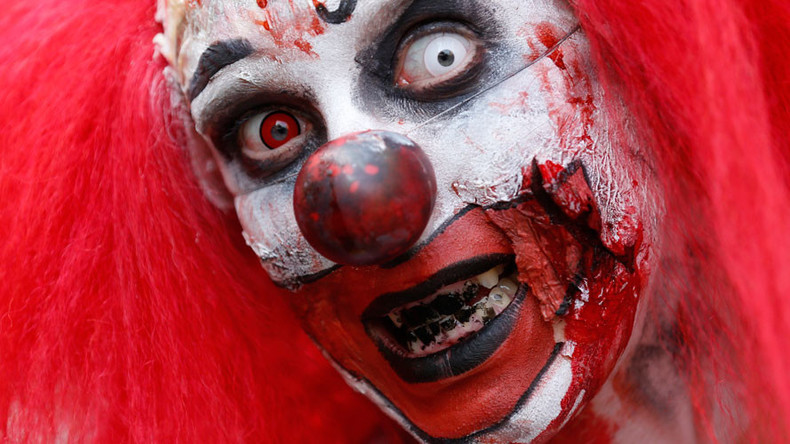 'Killer clown' craze now in Sweden as teen stabbed by masked assailant