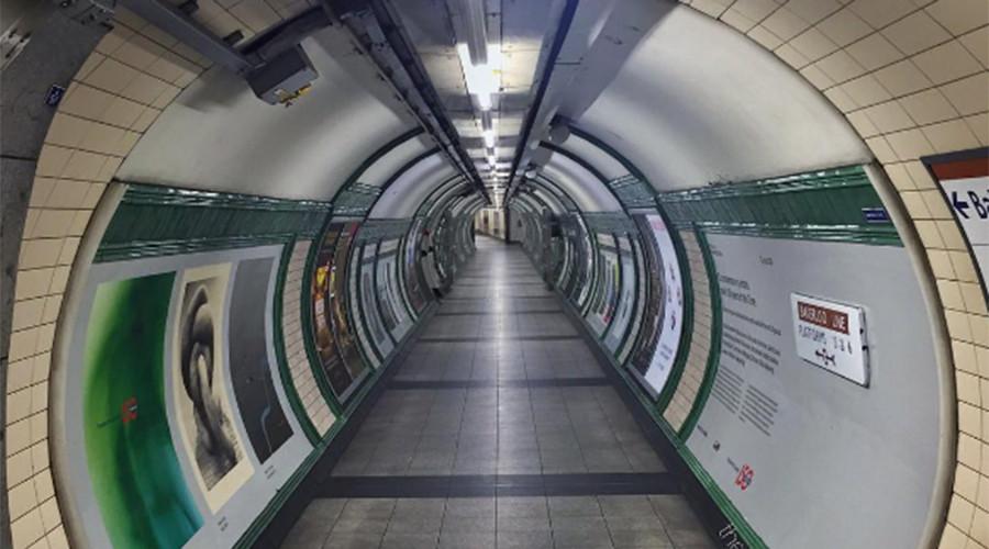 الروبوت منظمة العفو الدولية الجديد جوجل يمكن معرفة مترو انفاق لندن © thelondonstories