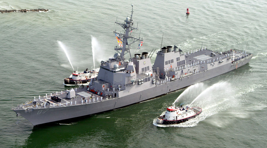 US destroyer 'appears' to have fallen under new attack off Yemen – Pentagon