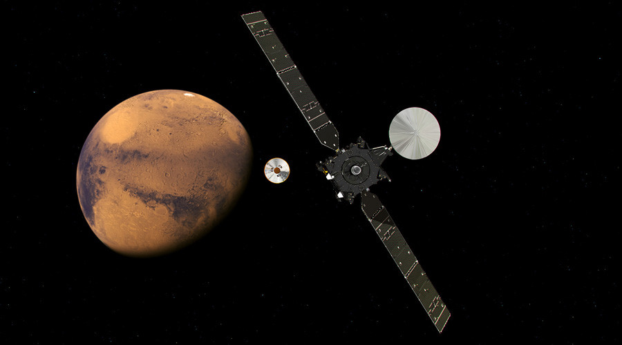 ExoMars Schiaparelli lander on course to touchdown on red planet (IMAGES)