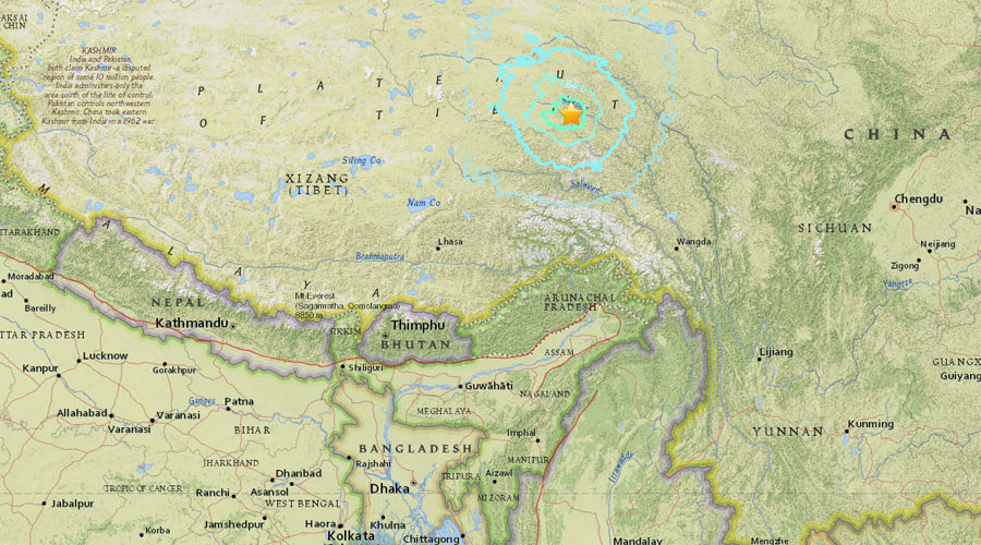 6.4 magnitude earthquake strikes Tibet – USGS