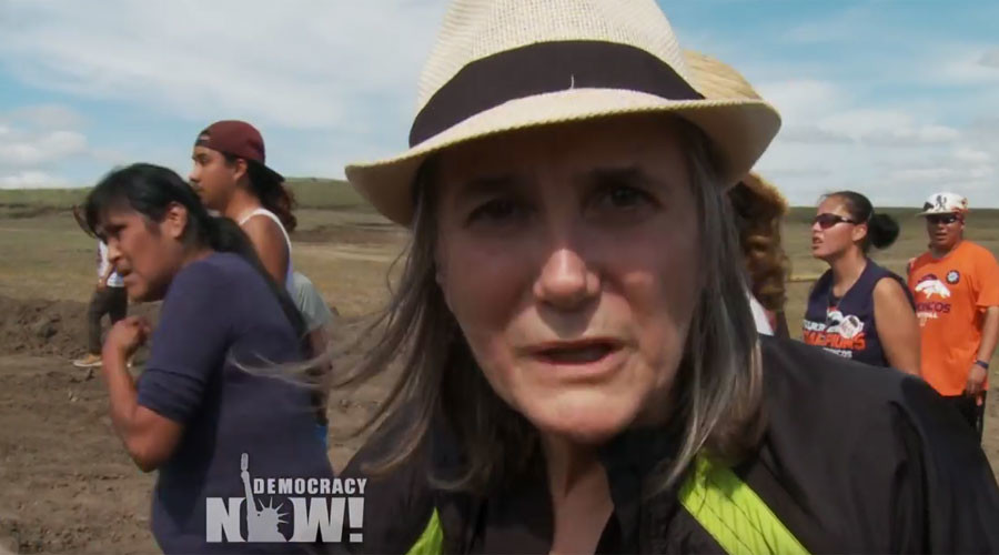 Riot charges dropped against Amy Goodman for reporting on Dakota Access Pipeline