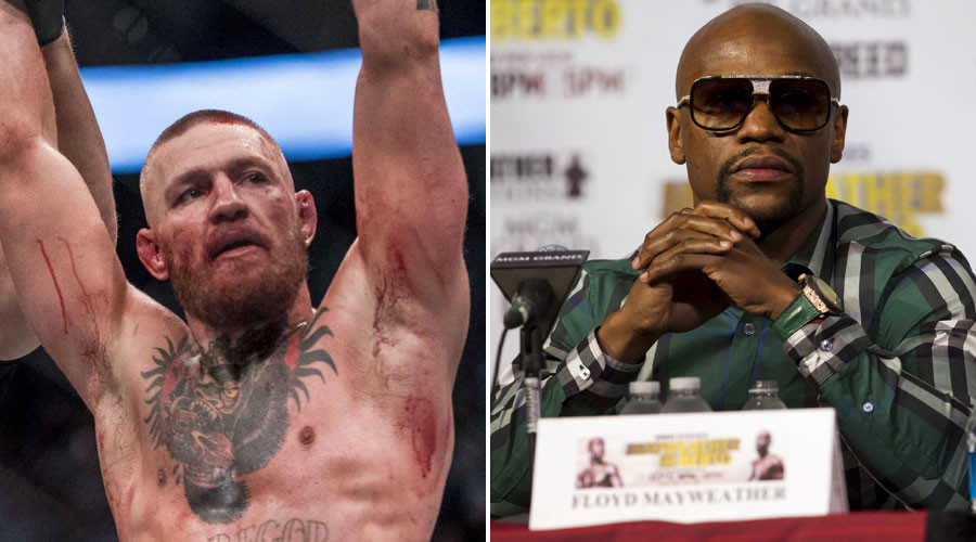 Conor McGregor: Mayweather 'afraid of fighting'