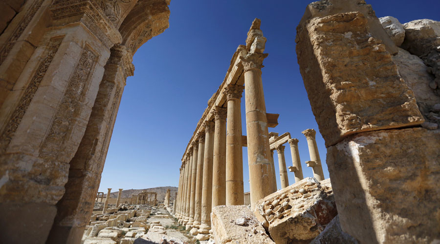 'If Russia is not hitting Islamic State, how to explain liberation of Palmyra?'